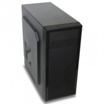 EVOLVEO Nate 1, case full ATX/mATX midi tower, 3x 120mm vent./ 3x USB černý