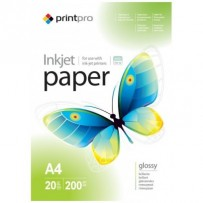 Colorway fotopapír Print Pro lesklý 200g/m2/ A4/ 20 listů