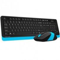 A4tech FG1010 FSTYLER set bezdr. klávesnice + myši, voděodolné provedení, modrá barva,cz