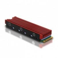 AXAGON CLR-M2, hliníkový pasívní chladič pro M.2 2280 SSD