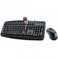 GENIUS Smart KM-200 set klávesnice a myši, drátový, CZ+SK layout, USB, černý