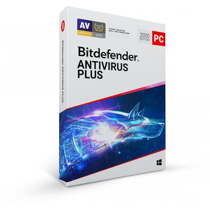 Bitdefender Antivirus Plus 2020 10 zařízení na 1 rok