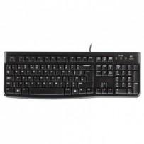 Logitech klávesnice K120, CZ/SK, USB, černá