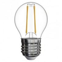 Emos LED žárovka MINI GLOBE, 2W/25W E27, WW teplá bílá, 250 lm, Filament A++