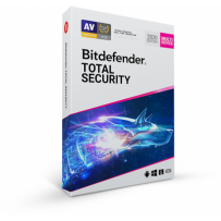 Bitdefender Total Security 2020 10 zařízení na 3 roky