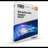 Bitdefender Family pack 2020 pro domácnost na 1 rok