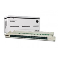 Digitus CAT 3 ISDN Patch Panel, nestíněný, 50 portů RJ45, 8P4C, LSA, 1U, montáž do stojanu, šedá, 482x44x109