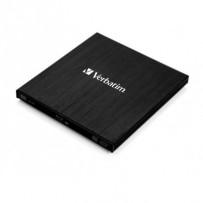 VERBATIM Externí Blu-ray Slimline Ultra HD 4K vypalovačka USB 3.1 Gen 1 (USB-C)