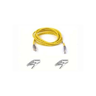 Belkin kabel PATCH UTP CAT5e CROSS 2m šedý/žlutý, bulk