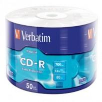 VERBATIM CD-R 700MB, 52x, wrap 50 ks