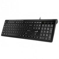 Genius Slimstar 230/ Klávesnice, drátová, USB, CZ+SK layout, černá