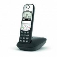 SIEMENS Gigaset A690 - DECT/GAP bezdrátový telefon, barva černá