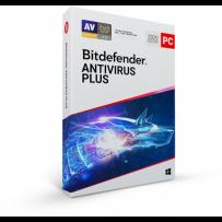 Bitdefender Antivirus Plus 2020 5 zařízení na 1 rok