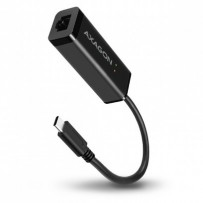 AXAGON ADE-SRC, USB3.1 Type-C - externí Gigabit Ethernet adaptér, auto install