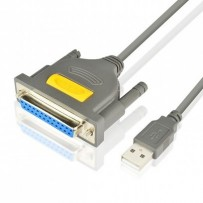 AXAGON ADP-1P25, USB2.0 - paralelní DB25F printer adaptér, 1.5m