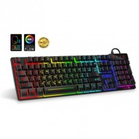CONNECT IT NEO klávesnice pro hráče (CZ+SK verze), RGB podsvícení, reaguje na zvuk