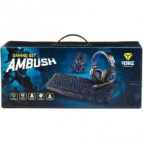 YENKEE AMBUSH GAMING SET myš + klávesnice + sluchátka CZ layout