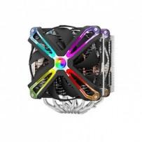Zalman CNPS20X, Chladič, pro CPU, pro Intel i AMD, socket2x 140mm RGB ventilátor, výška 170mm, heatpipe, PWM