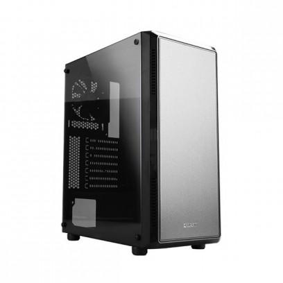 Zalman case miditower S4, bez zdroje, ATX, 1x USB 3.0, 1x USB 2.0, průhledná bočnice, černo-stříbrná