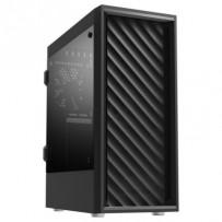 Zalman case miditower T7, bez zdroje, ATX, 1x USB 3.0, 2x USB 2.0, průhledná bočnice, černá