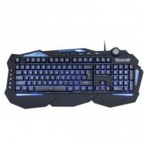 C-TECH herní klávesnice Scorpia V2 (GKB-119), pro gaming, CZ/SK, 7 barev podsvícení, programovatelná, černá, USB