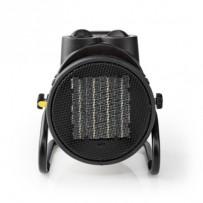 Nedis HTIF20FYW - Keramický Ventilátor s Topným Tělesem v Industriálním Stylu | Termostat | 3 Nastavení | 2 000 W | Žlutý