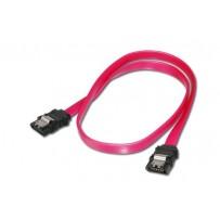 Digitus SATA II/III připojovací kabel, UL 21149, 0,5m kovová západka