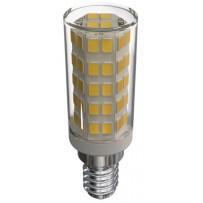 Emos LED žárovka Classic JC A++ 4,5W E14 teplá bílá