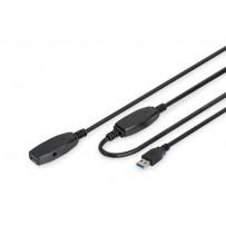Digitus USB 3.0 aktivní prodlužovací kabel délka: 15 m