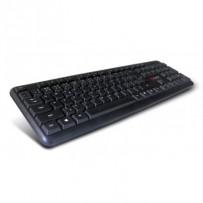 C-TECH Klávesnice CZ/SK KB-102 PS2 slim black