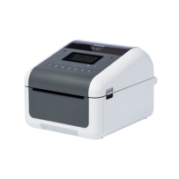 Brother TD-4550DNWB (tiskárna štítků s LCD displejem, 203 dpi, max šířka 108 mm), USB, RS232C, LAN, Bluetooth, Wi-Fi