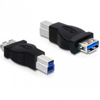 DeLock adaptér USB 3.0-B samec na USB 3.0 A samice