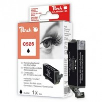 PEACH kompatibilní cartridge Canon CLI-526B, Black. 9 ml