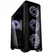 Zalman case I3 Edge, Skříň, Middle tower, bez zdroje, ATX, 1x USB 3.0, 2x USB 2.0, průhledná bočnice, černá