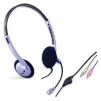 Genius headset HS-02B (stereo sluchátka + mikrofon)