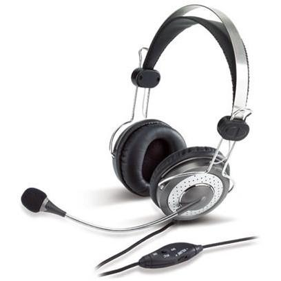Genius headset HS-04SU (sluchátka + mikrofon)