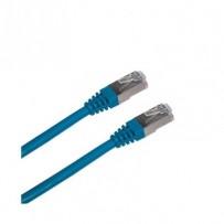 DATACOM Patch cord FTP CAT5E 3m modrý