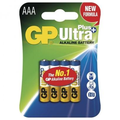 GP AAA Ultra Plus, alkalická - 4 ks