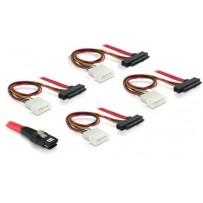 Delock kabel SAS mini 36-pin / 4x SAS 29-pin 50 cm