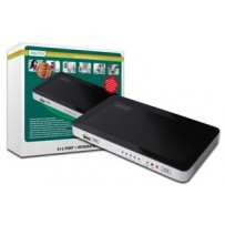 DIGITUS HDMI USB Video přepínač, 4 HDMI, 1 USB vstup -- 1 Výstup HDMI pro Win7, Vista, XP, Mac OS X