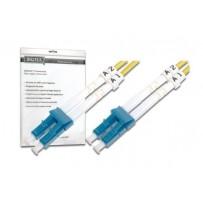 DIGITUS Fiber Optic Patch Cord, LC to LC, Singlemode, OS1, 09/125 µ, Duplex Length 10m