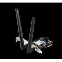 ASUS PCE-AX3000, AX3000 Dvoupásmový PCI-E Wi-Fi 6 (802.11ax). Podpora 160MHz, Bluetooth 5.0, zabezpečení sítě WPA3,OFDMA