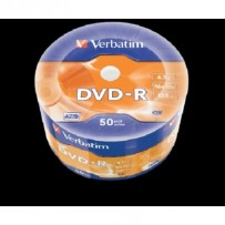 VERBATIM DVD-R AZO 4,7GB, 16x, wrap 50 ks