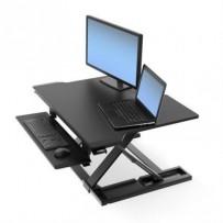ERGOTRON WorkFit-TX Standing Desk Converter, pracovní plocha na stůl k stání i sezení, držák kl. myš