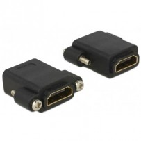 Delock Adapter High Speed HDMI female - HDMI female panel-mount