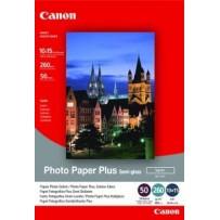 Canon fotopapír SG-201 - 10x15cm (4x6inch) - 260g/m2 - 50 listů - pololesklý