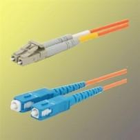 OPTIX LC/UPC-SC/UPC Optický patch cord 50/125 1m