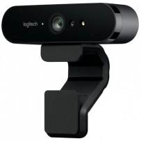 Logitech webkamera BRIO 4K, 5x zoom, RightLight™ 3 s HDR, černá