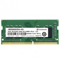 Transcend paměť 4GB (JetRam) SODIMM DDR4 2666 1Rx8 CL19