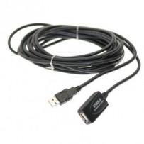 PremiumCord USB 2.0 repeater a prodlužovací kabel A/M-A/F 5m